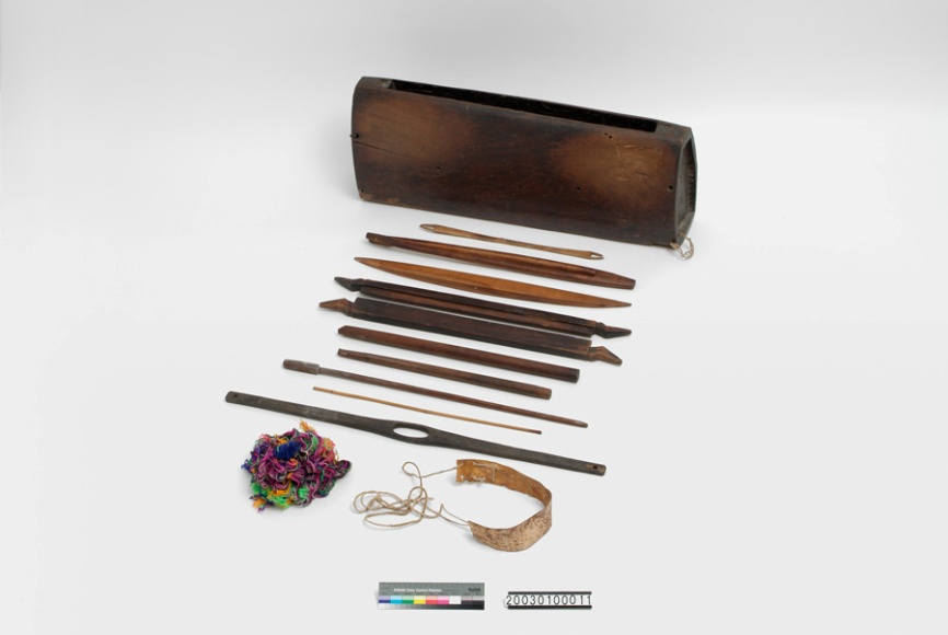 藏品分析-織布機