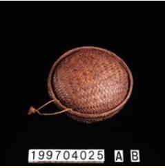 布農族纖維植物工藝科學分析-籐盒(04)