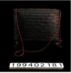 布農族纖維植物工藝科學分析-籐盒(01)