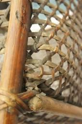 籃身使用工藝技法:經線加籐皮法