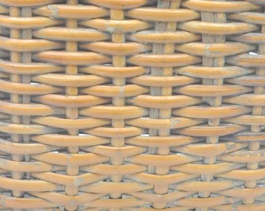 立面:柳條編法