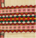 綴織背後紋飾有四種