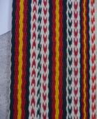 整件織品與14件相較經線的變化較有特色