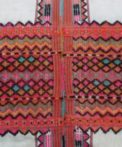 色彩層次豐富的紋飾