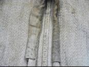 前襟領口縫製布邊