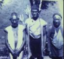 花蓮卓溪太平男子著常服。攝影1928年。圖片來源取自台大人類學博物館放映A758影像翻拍