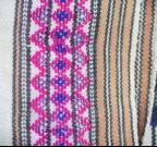 菱形紋分段,有許多色彩變化