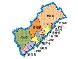 山里部落地理位置圖