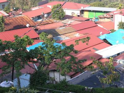 特富野村俯瞰一景