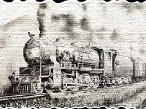 乘坐火車遷徙