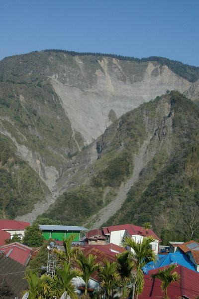 特富野村後山脈
