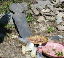 達魯瑪克-卡帕里瓦重建頭目家屋祭拜儀式 圖片提供:黃芳琪