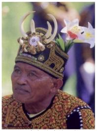 魯凱族貴族頭飾