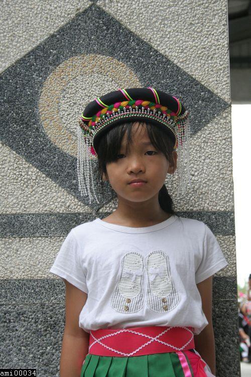 阿美族小女孩