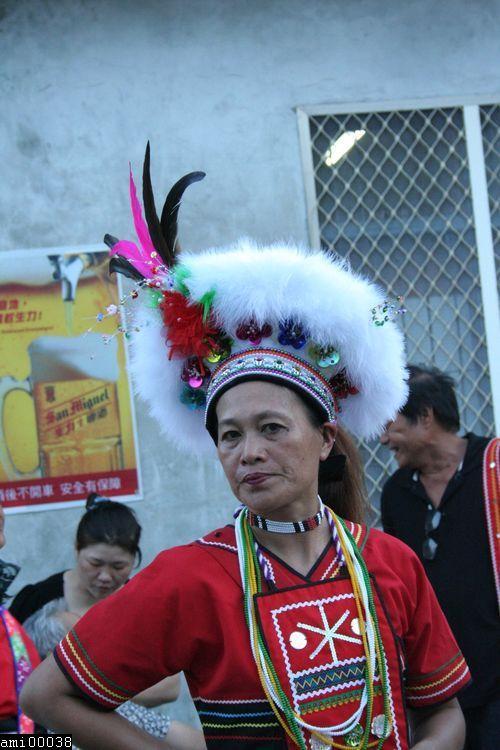 舞蹈中的阿美族女性