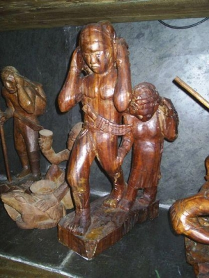 Rukai Wood carving