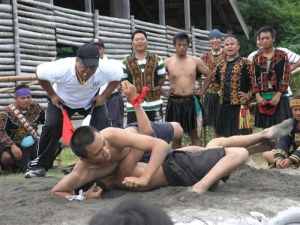 2008 Taromak tribe- The Swing Festival-  The contest of warsle
