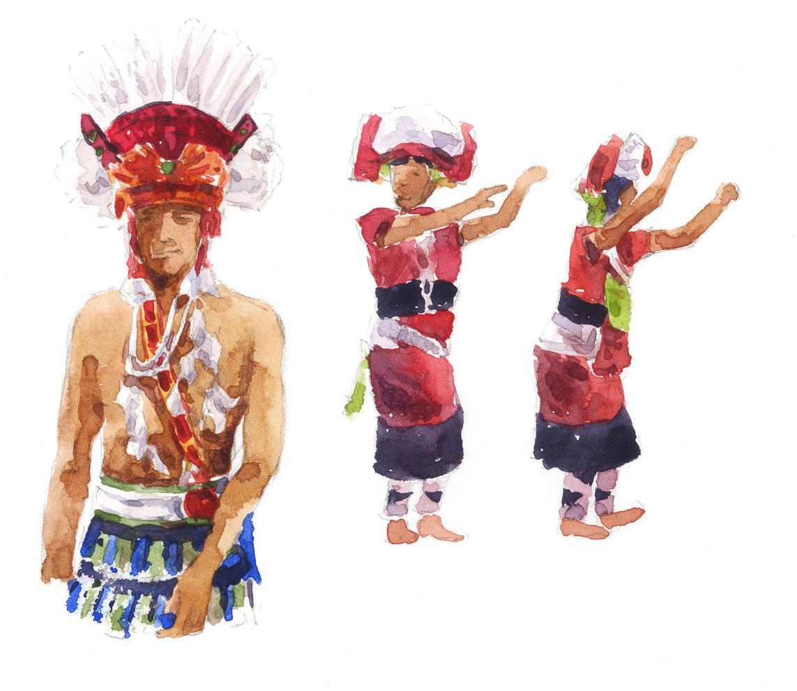 阿美族人一般自稱 Pangtsah「邦查」、Pangcah「班查」,是「人」及「同族人」的意思