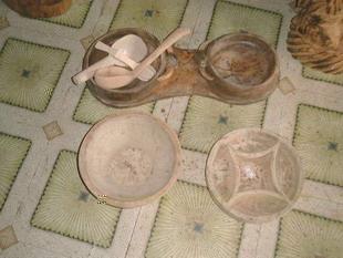 布農族木碗