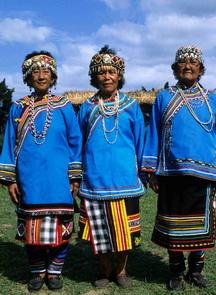 布農族的婦女