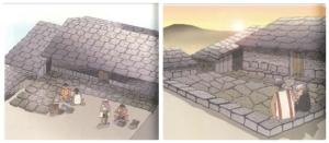 舖地板示意(陳世國/布農的家-潭南社區文化傳承系列)
