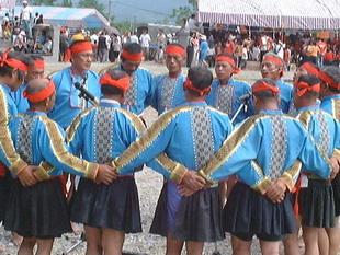 布農族男子衣飾