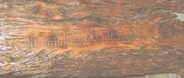 布農族木刻畫曆