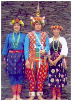 卑南族男女服飾