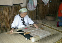 噶瑪蘭婦女香蕉織布