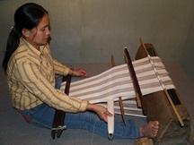 泰雅族織布
