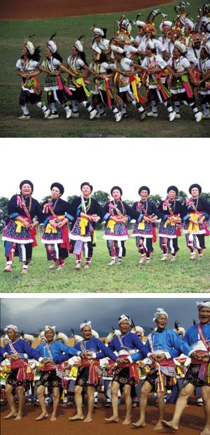 阿美族各部落的衣飾