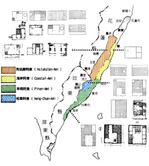 家屋類型所屬區域圖